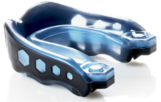 Blue/Black Gel-Max Mouthguard